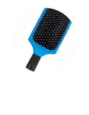HS Tourmaline Paddle Brush